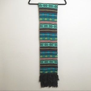 Mossimo Colorful Tribal Southwestern Scarf
